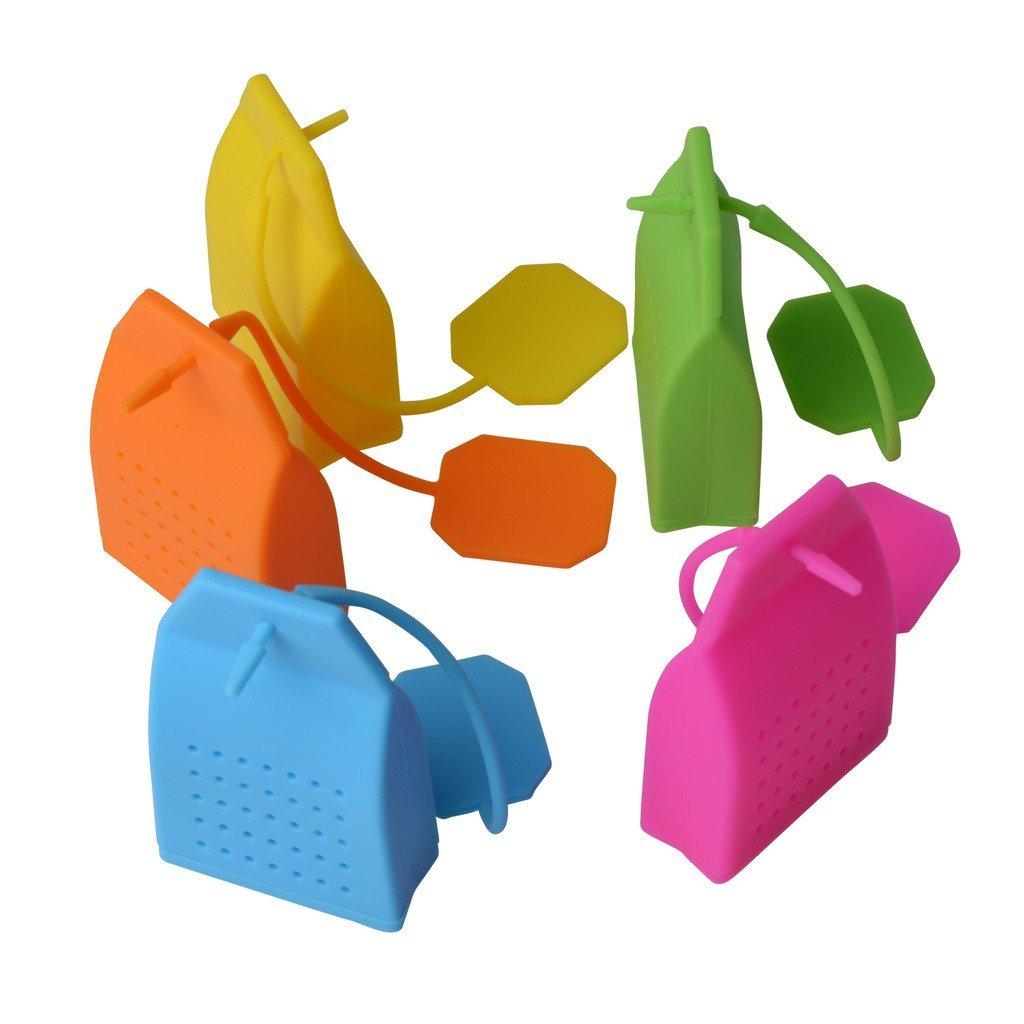 Tea Infuser Classic Bag Shape Premium Silicone Bpa Free